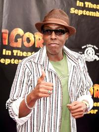 Arsenio Hall at the California premiere of