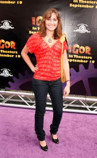Taylor Dooley at the California premiere of