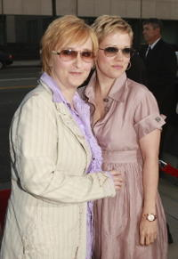 Melissa Etheridge and Julie Cypher at a special Beverly Hills screening of