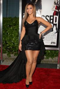 Beyonce Knowles at the New York premiere of