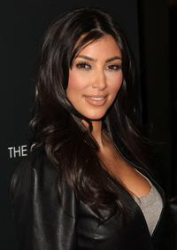 Kim Kardashian at the New York premiere of