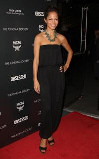 Sherri Saum at the New York premiere of