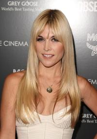 Tinsley Mortimer at the New York premiere of