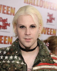 Musician John 5 at the L.A. premiere of