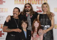 Actors Danny Trejo, Skyler Gisondo, writer/director Rob Zombie, actors Jenny Gregg Stewart and Sheri Moon Zombie at the L.A. premiere of