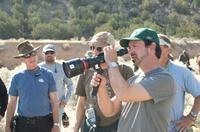 Director James Mangold on the set of