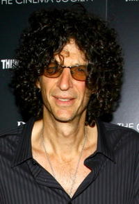 Radio personality Howard Stern at the N.Y. premiere of