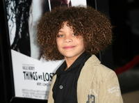 Actor Micah Nicholas Berry at the L.A. premiere of