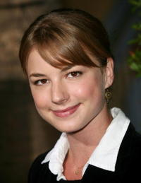 Actress Emily VanCamp at the L.A. premiere of
