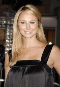Actress Stacy Keibler at the L.A. premiere of