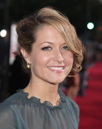 Actress Ali Hillis at the L.A. premiere of