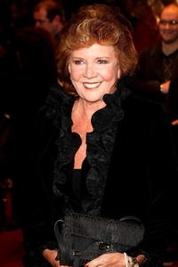 Actress Cilla Black at the London premiere of