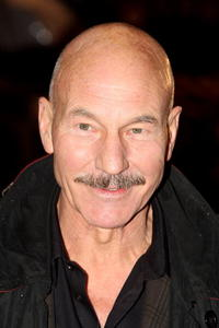 Actor Patrick Stewart at the London premiere of