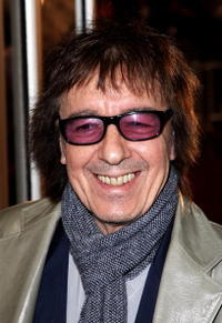 Musician Bill Wyman at the London premiere of