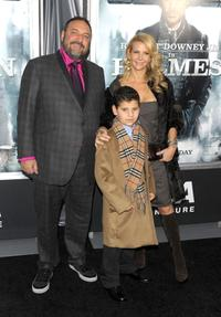 Joel Silver and Guests at the New York premiere of