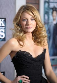 Blake Lively at the New York premiere of