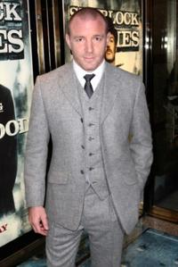 Guy Ritchie at the London premiere of