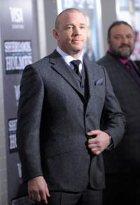 Guy Ritchie at the New York premiere of