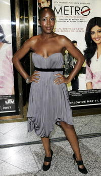 TV presenter Angellica Bell at the London premiere of