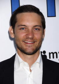 Actor Tobey Maguire at the Hollywood premiere of