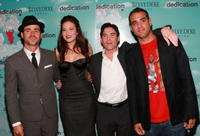 Director Justin Theroux, actors Mandy Moore, Billy Crudup and Bobby Cannavale at the N.Y. premiere of