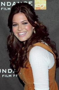 Actress Mandy Moore at the premiere of