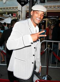 Will Smith at the California premiere of