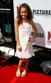 Madison Pettis at the California premiere of