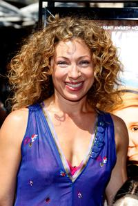 Alex Kingston at the California premiere of