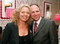 Director Patricia Rozema and Picturehouse president Bob Berney at the afterparty of the California premiere of