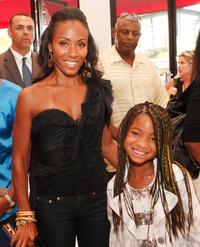 Jada Pinkett Smith and her daughter Willow Smith at the afterparty of the California premiere of