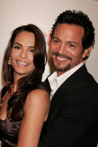 Actors Talisa Soto and Benjamin Bratt at the screening of