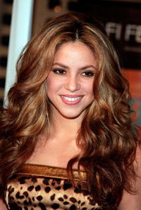 Singer Shakira at the screening of