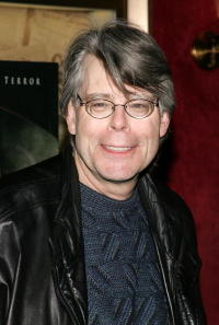 Writer Stephen King at the N.Y. premiere of