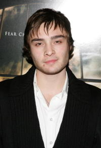 Actor Ed Westwick at the N.Y. premiere of