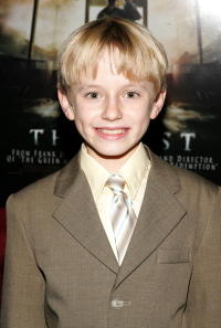 Actor Nathan Gamble at the N.Y. premiere of