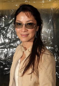 Actress Michelle Yeoh at the N.Y. premiere of