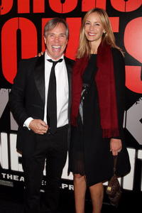 Designer Tommy Hilfiger and Dee Ocleppo at the N.Y. premiere of