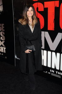 Actress Gina Gershon at the N.Y. premiere of