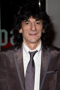 Rolling Stones member Ronnie Wood at the London premiere of