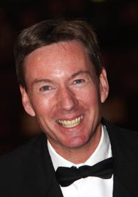 BBC security correspondent Frank Gardner at the premiere of