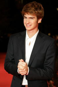Actor Andrew Garfield at the Berlin premiere of