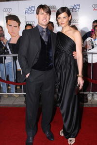 Tom Cruise and Katie Holmes at the AFI premiere of