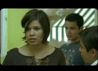 America Ferrera, Adrian Alonso and Jesse Garcia in