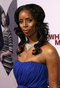 Actress Tasha Smith at the L.A. premiere of
