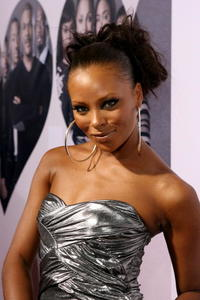 Model Eva Pigford at the L.A. premiere of