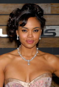 Actress Sharon Leal at the EMA & E! Golden Green After Party in Beverly Hills.