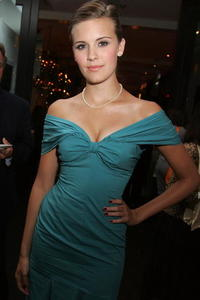 Actress Maggie Grace at the premiere party of