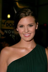 Actress Maggie Grace at the L.A. premiere of