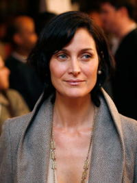 Actress Carrie-Anne Moss at the premiere party of